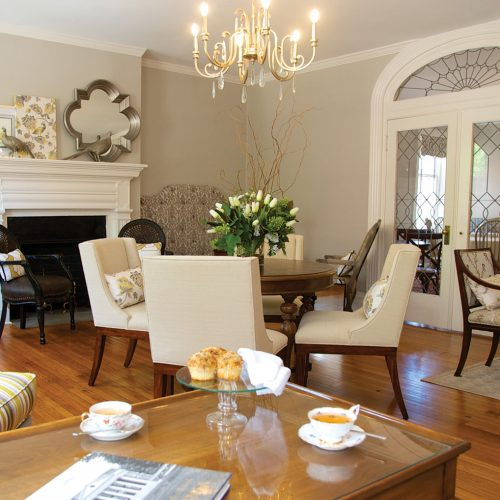 Charlottesville, Inn, Historic, Library Loft, Dinsmore, Private Events, Afternoon Tea