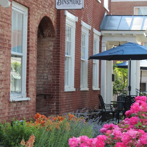 Charlottesville, Inn, Historic, Library Loft, Dinsmore